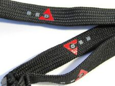 RED MOUNTAIN BC Canada  SKI LANYARD For LIFT PASS TICKETS  ID  BLACK & Red  NIP