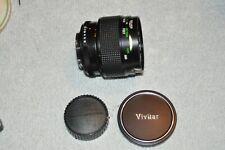 Vivitar 55MM F2.8 Auto Macro Lens - Minolta MD mount - Excellent condition.