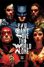 Justice league 2017 film AB078 movie poster-poster print art A0 A1 A2 A3