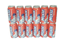 Moxie Soda 12-12oz Cans  - Maine Soft Drink - Oldest Carbonated Beverage in U.S!