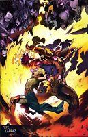 WAR OF REALMS #5 (OF 6) LARRAZ YOUNG GUNS VAR - MARVEL COMICS - USA - J533
