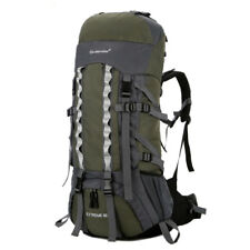 80L Outdoor Camping Hiking Backpack Travel Large Luggage Internal Frame Bag Pack
