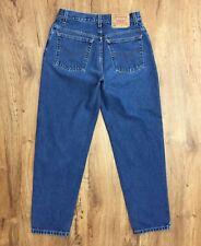"""Vtg 90s Levis 550 Relax Fit Taper Leg High Waist Jeans Womens 12 REG S Waist 30"""""""