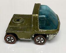 Hot Wheels Redline Olive Heavyweights Cab HTF Color 1969 HK