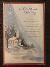 """16 Christmas Cards & Envelopes American Greetings 5""""x 7"""" New Christmas Blessing"""
