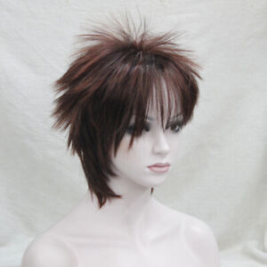 Ladies Wig Lady Short Wig Blonde Full Syntheti Women's Cosplay Party Wigs