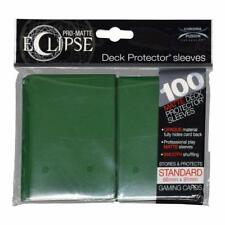 Ultra Pro Matte Deck Protector Sleeves ECLIPSE GREEN 100 ct MAGIC POKEMON FOW