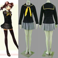 Anime COS Shin Megami Tensei: Persona 4 Rise Kujikawa Cosplay Costume Full Suit
