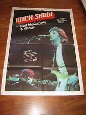 MANIFESTO,Paul McCartney Wings 1976,Rock show (1980),MUSICALE,BEATLES