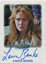 Women of Star Trek 50th Anniversary Autograph Card Laura Banks as Khan Navigator
