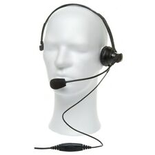 Actarvis Boom Mic Headset With PTT For Motorola Multipin Two Way Radio P3TE#