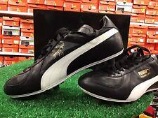 New Puma MARADONA Super FG Soccer Cleats Leather  Black / White / Gold size 8.5