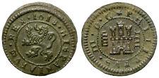 FELIPE III. 4 MARAVEDIS. 1618. SEGOVIA. BELLA.