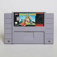 Wario's Woods (Super Nintendo Entertainment System, 1994) Puzzle