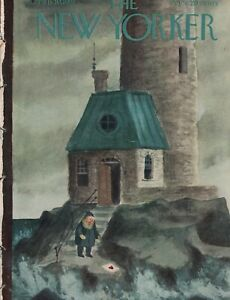1951 New Yorker February 10 - The Lighthouse Keeper's Valentine - Addams