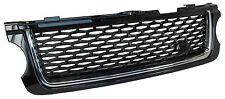 Black+Chrome Autobiography style grille Range Rover L322 exterior design pack
