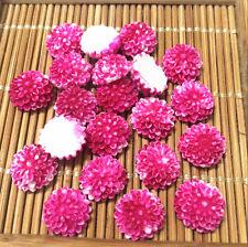 20pcs 10mm rose sunflower Resin Flatback Cabochon ScrapbookIng for phone/craft~