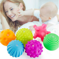 6Pcs Baby Hand Sensory Balls Textured Multi Tactile Ball Developmental Play Toys