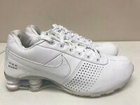 Youth 7Y Nike Shox White 318130 111