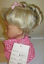 Cute Light Blonde Dollspart doll wig size 11