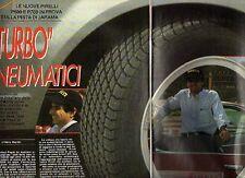 Z6 Ritaglio Clipping 1985 Pirelli P600 e P700