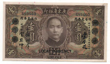 New listing China 1 Yuan 1931 Pick S12425 Au With 2 Litle Holes