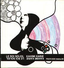 Kahimi Karie - LE ROI SOLEIL - Japan CD J-POP1996