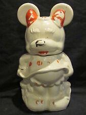 Walt Disney American Bisque Mickey & Minnie Turnabout Cookie Jar