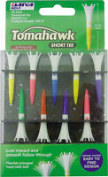 "Tomahawk Short Golf Tees - 1 3/4"" - 9 Pack"