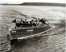 Mackinac Speed Boat Service Chris Craft 1920 Mackinac Island Michigan Ferry LOOK