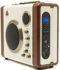 GPO Manga Vintage Stereo Speaker Bluetooth, Amplifier, Guitar & Mic Plug in