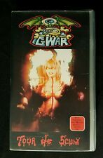 GWAR Tour De Scum VHS German Version Rare 60 Min. 1993 Video For Nations