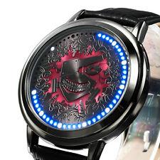 Anime Tokyo Ghoul Ken Kaneki LED Watch Waterproof Touch Screen Wristwatch