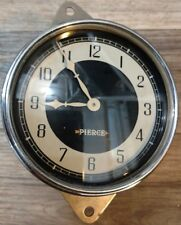 1933 1934 Pierce Arrow Clock  Excellent! Fully Reconditioned! Rare!