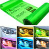 Green Car Headlight Tint Film Taillight Tail Vinyl Wrap Fog Light Films Sticker