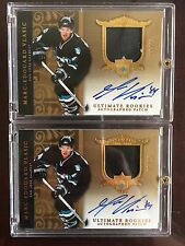 2006-2007 UD ULTIMATE ROOKIES Marc - Edouard Vlasic RC AUTO PATCH #18/25
