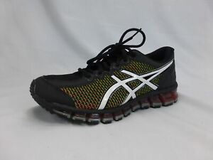ASICS GEL-Quantum 360  Running Shoe  Black/White/Green Gecko, 7 M US