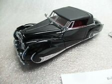 Franklin Mint 1947 Bentley Mark Vi Franay Coachwork with Papers