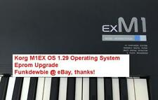 Korg M1EX OS v1.29 Final EPROM Firmware Upgrade SET