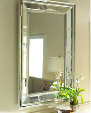 Wall Mirror With Gold and Blck Mix Colors Frame