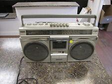 Vintage Sanyo M 9935K 4 Speaker Cassette Radio Boombox