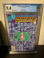 Crisis On Infinite Earths #5 CGC 9.4 NM Rare Canadian Price Variant DC