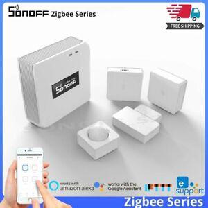 SONOFF Zigbee Bridge Wireless Switch Temperature Humidity PIR Door Window Sensor