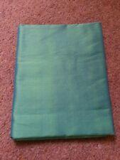 Thai Silk vibrant green fabric 1m x 2.45m