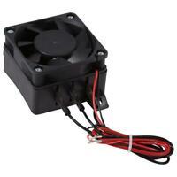 PTC Car Fan Air Heater Constant Temperature Heating Element Heaters 100W 12V