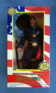 12 INCH U.S. US SERGEANT MAJOR INFANTRY CIVIL WAR SOLDIERS OF THE WORLD 1997