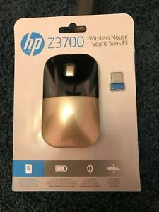 HP Wireless Mouse Z3700 Gold X7Q43AA#ABL