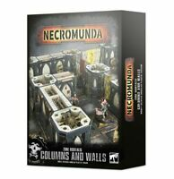 Necromunda: Zone Mortalis Columns and Walls - Warhammer 40k - Brand New! 300-48
