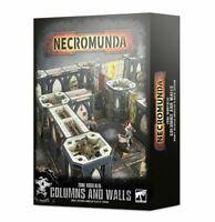 Necromunda: Zone Mortalis Columns and Walls - Warhammer 40k - Brand New! 300-48