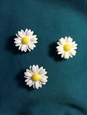 POPULAR Daisy TRIO Flower Power Croc Hole Accessories Shoe Charms